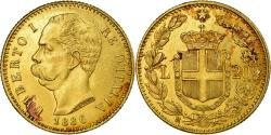 World Coins - Coin, Italy, Umberto I, 20 Lire, 1886, Rome, , Gold, KM:21