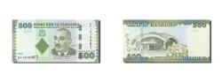 World Coins - Tanzania, 500 Shilingi, 2010, KM #40, AU(50-53), BF 1919461
