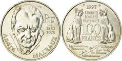 World Coins - Coin, France, André Malraux, 100 Francs, 1997, , Silver, KM:1188