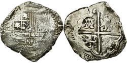 World Coins - Coin, Bolivia, Philip III, 8 Reales, Potosi, COB, , Silver, KM:10