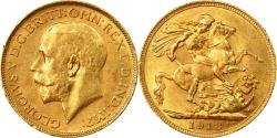 World Coins - Coin, Canada, George V, Sovereign, 1918, Royal Canadian Mint, Ottawa,