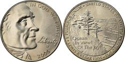Us Coins - Coin, United States, Half Dime, 2005, U.S. Mint, , Copper-nickel