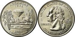 Us Coins - Coin, United States, Quarter, 2003, U.S. Mint, Denver, , Copper-Nickel