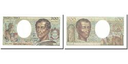 World Coins - France, 200 Francs, Montesquieu, 1981, UNC(60-62), Fayette:70.01, KM:155a