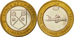World Coins - CABINDA, 5 Escudo Convertivel, 2005, , Bi-Metallic, KM:7