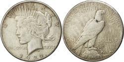 Us Coins - Coin, United States, Peace Dollar, 1922, San Francisco, AU(50-53), KM 150