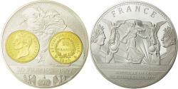 World Coins - France, Medal, Histoire de la monnaie Française, 20 Francs 1807, MS(65-70)
