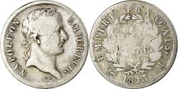 World Coins - Coin, France, Napoléon I, Franc, 1813, Toulouse, , Silver, KM:692.10