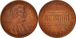 Us Coins - United States, Lincoln Cent, 1977, Denver, KM:201