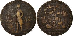 World Coins - United Kingdom , Medal, Vernon, Vice Admiral of the Blue, Porto Bello, Shipping