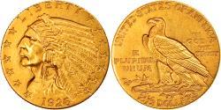 Us Coins - Coin, United States, Indian Head, $2.50, Quarter Eagle, 1926, U.S. Mint