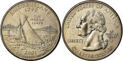 Us Coins - Coin, United States, Rhode Island, Quarter, 2001, Philadelphia,