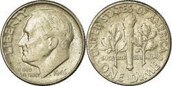 Us Coins - Coin, United States, Roosevelt Dime, Dime, 1945, U.S. Mint, Philadelphia