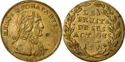 World Coins - France, Token, Napoléon Bonaparte, Le Fruit de ses Actions, History, 1796