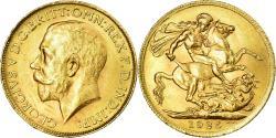 World Coins - Coin, South Africa, George V, Sovereign, 1925, Pretoria, , Gold, KM:21
