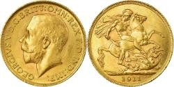 Ancient Coins - Coin, Great Britain, George V, Sovereign, 1911, London, , Gold, KM:820