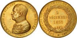 World Coins - France, Medal, Baron de Vincent, Préfet du Rhône, Politics, Society, War