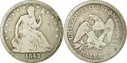 Us Coins - Coin, United States, Seated Liberty Half Dollar, Half Dollar, 1842, U.S. Mint