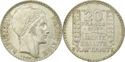 World Coins - Coin, France, Turin, 20 Francs, 1937, Paris, , Silver, KM:879