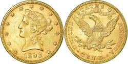 Us Coins - Coin, United States, Coronet Head, $10, 1893, Philadelphia, , Gold