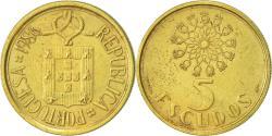 World Coins - Portugal, 5 Escudos, 1986, , Nickel-brass, KM:632