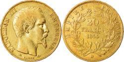 Ancient Coins - Coin, France, Napoleon III, 20 Francs, 1855, Lyon, , KM 781.3