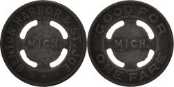 Us Coins - United States, Token, Benton Harbor & St. Joe