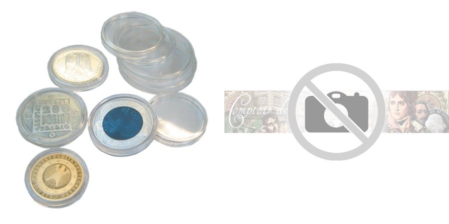 World Coins - Capsules, 16.5, mm, Set of 5, Safe:6716-5