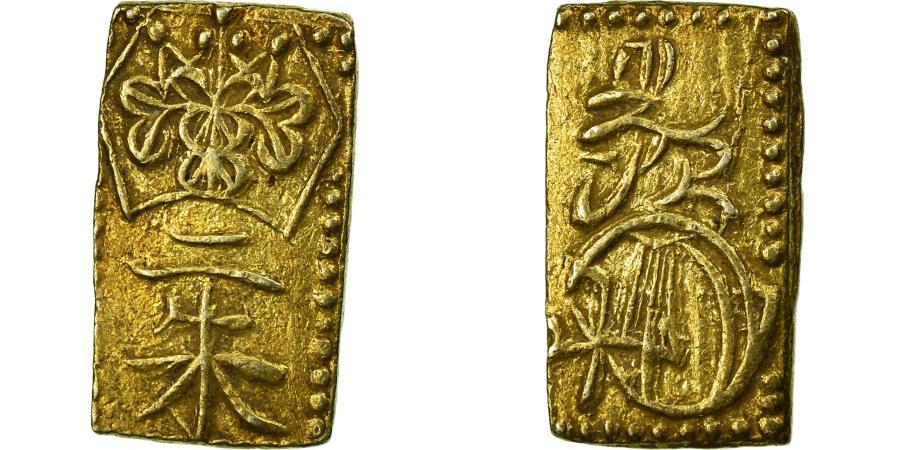 World Coins - Coin, Japan, 2 Shu, Nishu Gin, 1860-1869, , Gold And Silver, KM:18a