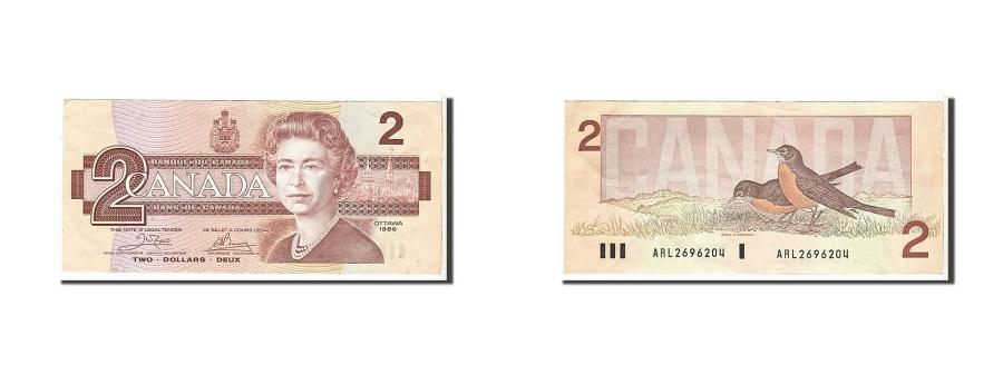 World Coins - Canada, 2 Dollars, 1986, KM #94a, EF(40-45), ARL2696204
