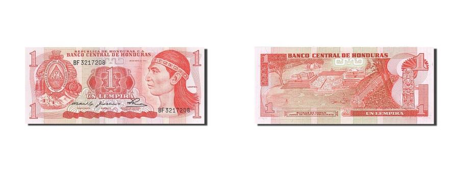 World Coins - Honduras, 1 Lempira, 1980, KM #68a, 1980-05-29, UNC(65-70), BF 3217208