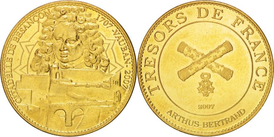 World Coins - Tourist Token, Citadelle de Besançon, Vauban, 2007, , Arthus Bertrand