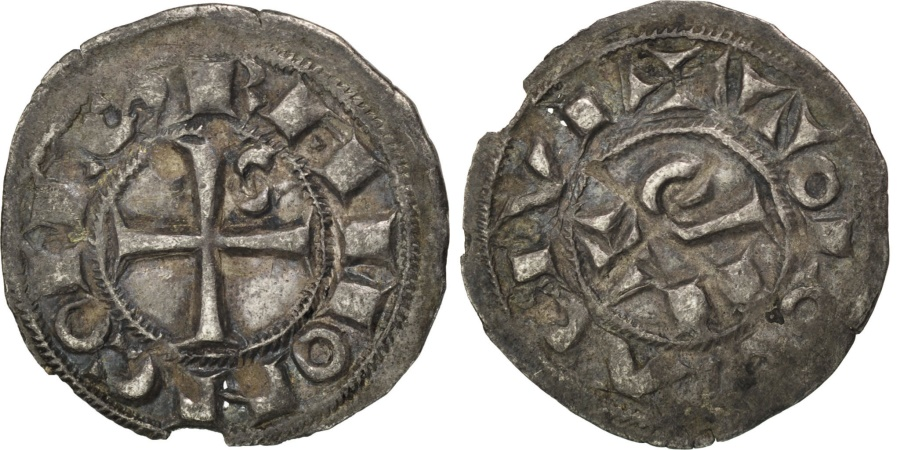 World Coins - FRANCE, Obol, Toulouse, , Billon, 0.39