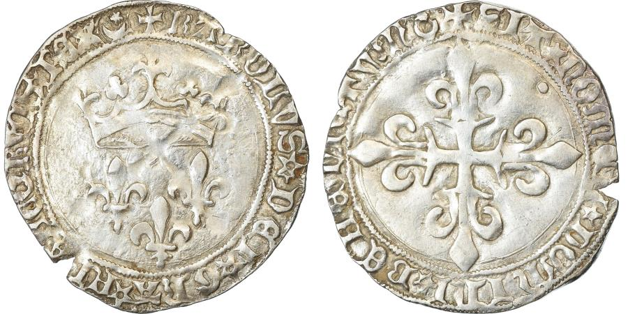 World Coins - Coin, France, Charles VII, Gros de Roi, Montpellier, , Silver
