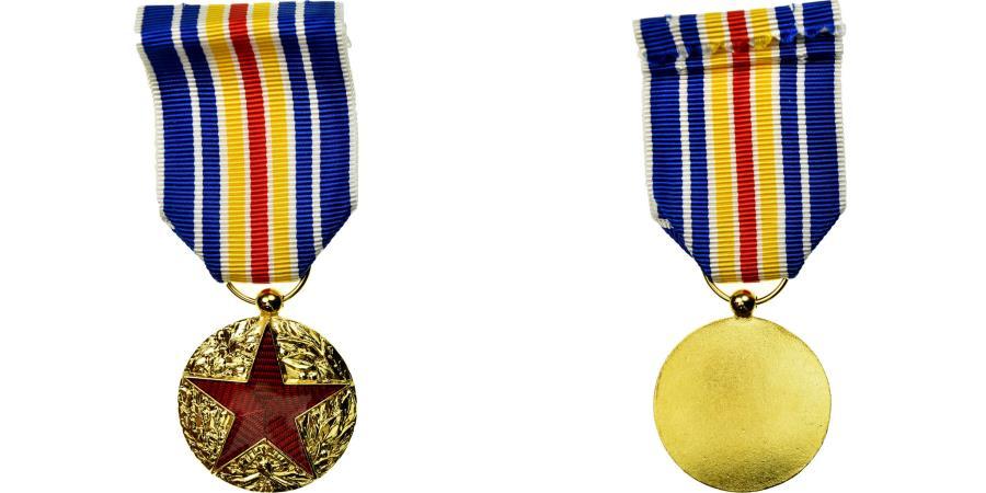 World Coins - France, Blessés Militaires de Guerre, Medal, 1914-1918, Uncirculated, Gilt