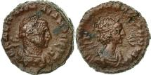 Ancient Coins - Coin, Vabalathus and Aurelian, Tetradrachm, 271-272, Alexandria, EF(40-45)