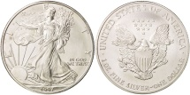 Us Coins - United States, Dollar, 1997, U.S. Mint, Philadelphia, MS(64), Silver, KM:273