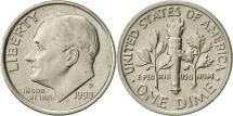 Us Coins - United States, Roosevelt Dime, Dime, 1990, U.S. Mint, Philadelphia, AU(55-58)