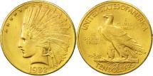 Us Coins - United States, Indian Head, $10, Eagle, 1932,Philadelphia,Gold,AU(50-53),KM 130