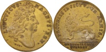 World Coins - France, Royal, Louis XIV, Ordinaire des Guerres, 25mm, Token