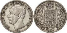 German States, HANNOVER, Georg V, 1/6 Thaler, 1859, EF(40-45), Silver, KM:238