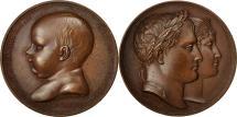 World Coins - France, Medal, Napoléon Ier, Naissance de François Joseph, Roi de Rome, 1811