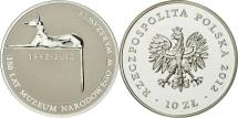 World Coins - Poland, 10 Zlotych, 2012, Warsaw, MS(65-70), Silver, KM:822