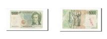 World Coins - Italy, 5000 Lire, KM:111b, 1985-01-04, VF(20-25)