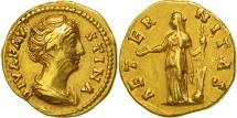 Faustina I, Aureus, Rome, EF(40-45), Gold, RIC:349a