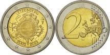 Luxembourg, 2 Euro, 10 years euro, 2012, MS(63), Bi-Metallic