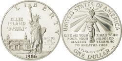 Us Coins - United States, Dollar, Statue of Liberty, 1986, MS(65-70), Silver, KM:214