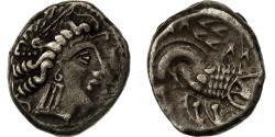 Ancient Coins - Coin, Transpadane, Celto-Ligures, Drachm, AU(55-58), Silver, Latour:2126 var.