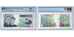 World Coins - Banknote, Belgium, 10,000 Francs, Undated (1997), KM:152, graded, PCGS