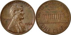 Us Coins - Coin, United States, Lincoln Cent, Cent, 1964, U.S. Mint, Philadelphia